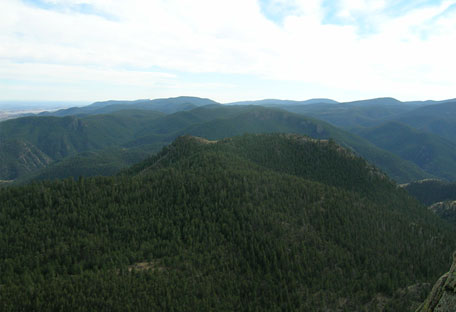 View from the top of Grey Rock